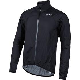UYN Biking Alpha OW Verpakbare waterdichte Jas Heren, black/silver